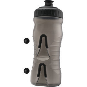 Fabric Cageless Drikkeflaske 600ml, grey/black